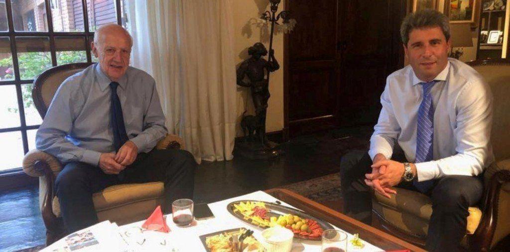 Uñac no descartó acompañar a Lavagna en una fórmula presidencial