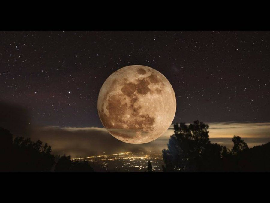 Mas luminosa que nunca: La superluna de gusano podrá ser observada esta noche en Catamarca