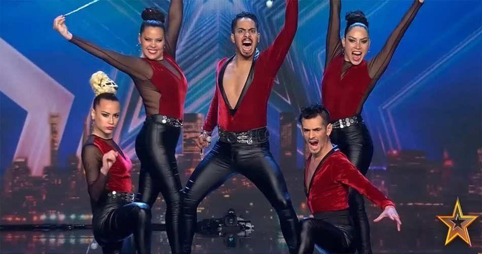 La compañia Argendance deslumbró al jurado del Got Talent España y pasaron a la semifinal