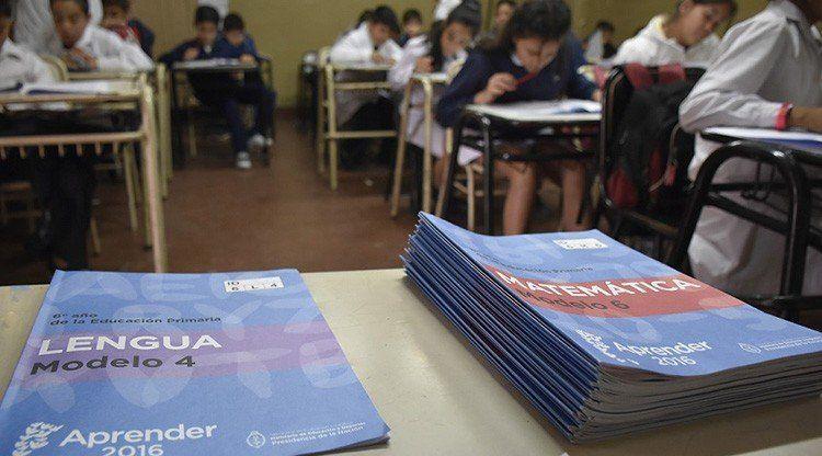 Tucumán se destacó en los resultados de las Pruebas Aprender 2018