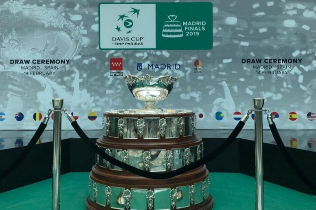 Copa Davis: Argentina debutará ante Chile el martes 19 de noviembre
