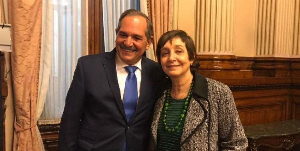 Beatriz Mirkin será la compañera de fórmula de José Alperovich