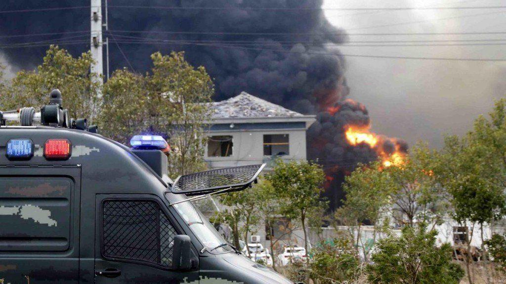 Explosión en una planta química en China: ya son 64 los muertos y hay 28 personas desaparecidas