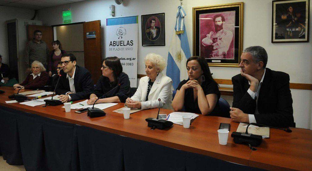 Abuelas de Plaza de Mayo impulsa un proyecto en Diputados