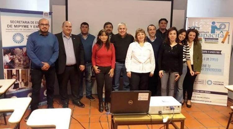 Lanzaron el programa Tucumán Capacita 2019