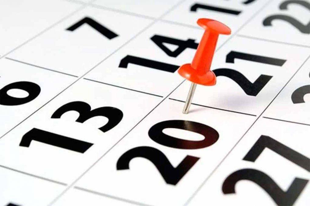 Todos los feriados y días no laborables de abril, el mes de la Semana Santa