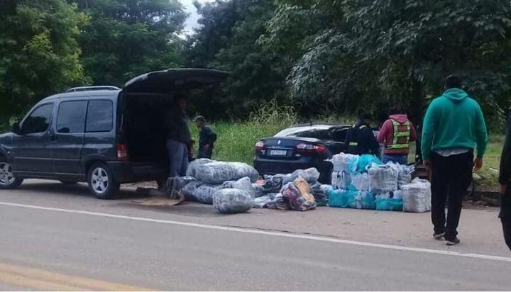 Jujuy: Incautan mercadería que intentaban ingresar de contrabando