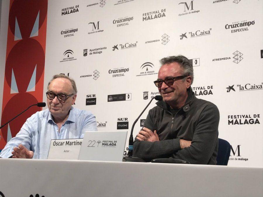 Oscar Martínez es el mejor actor del Festival de Málaga: recibió la Biznaga de Plata