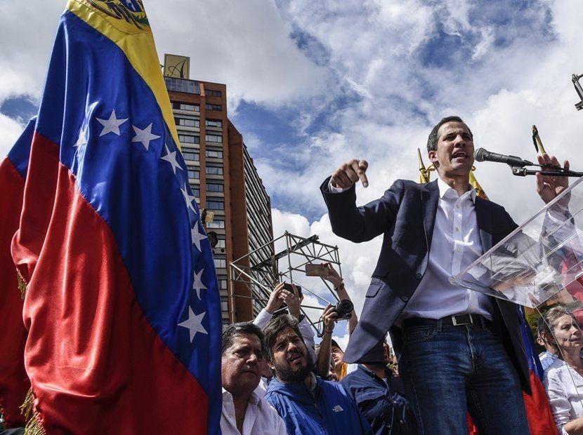Para Guaidó, el gobierno de Nicolás Maduro ingresó en una etapa final