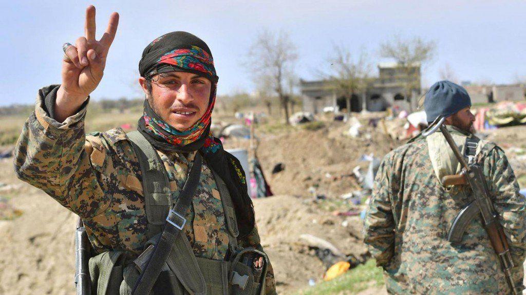 Fuerzas apoyadas por Estados Unidos declararon el triunfo militar sobre el Estado Islámico