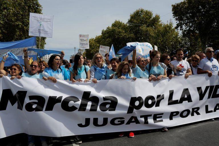 """Se realizó en distintos puntos del país la """"Marcha por la Vida"""""""