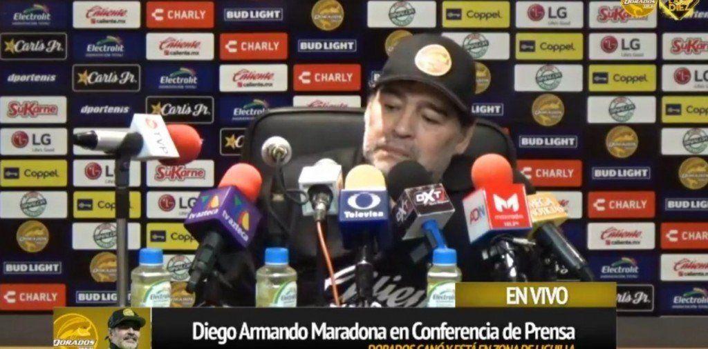 Diego criticó a la Selección tras la caída ante Venezuela