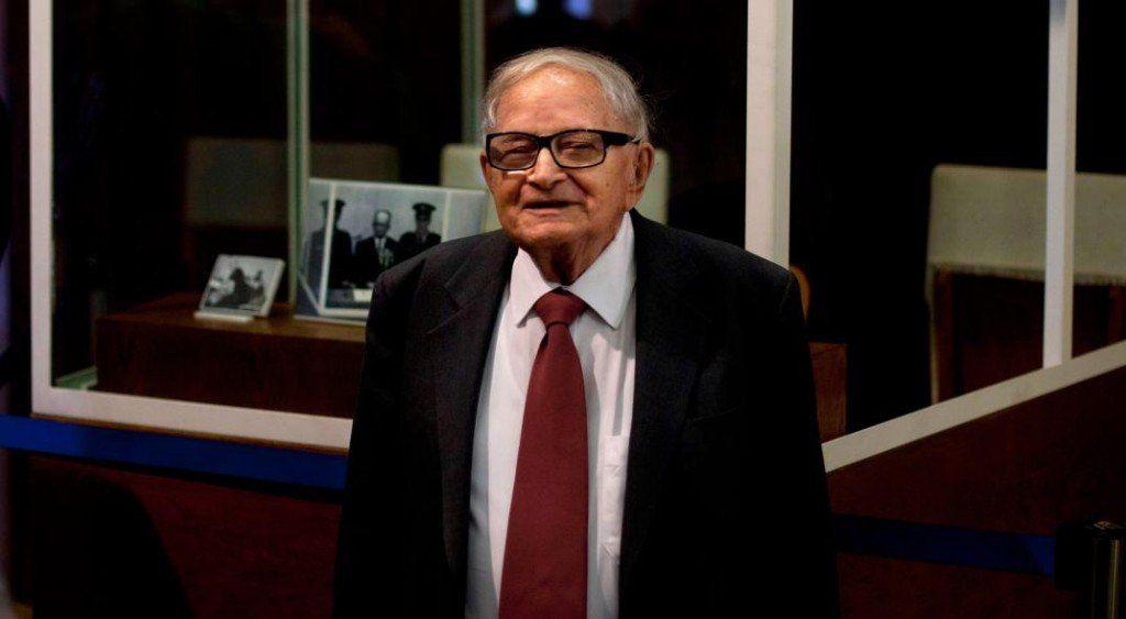 Murió Rafi Eitan, el espía que capturó al jefe nazi en Buenos Aires