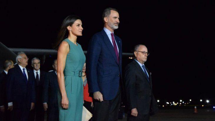 Los reyes de España ya están en el país para una visita de Estado