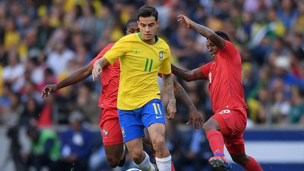 Amistoso internacional: Brasil y un pálido empate ante Panamá