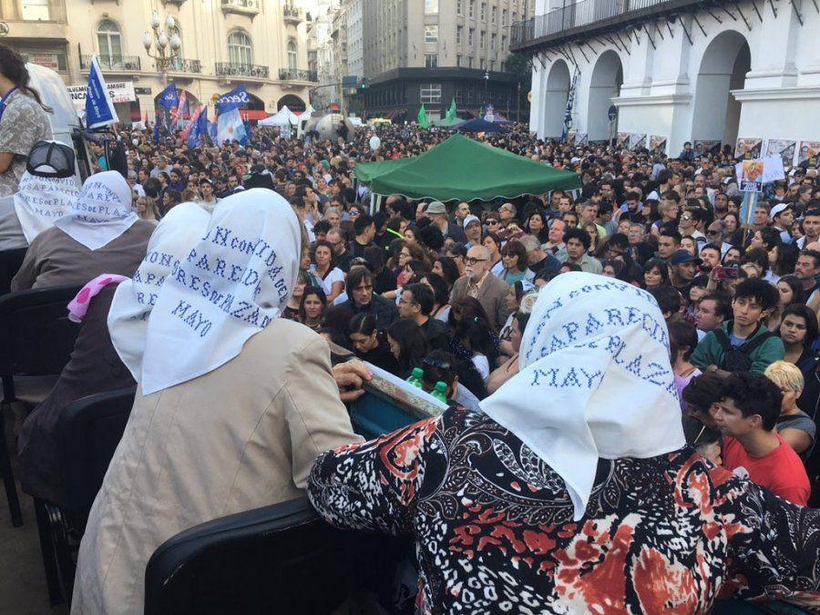 Abuelas de Plaza de Mayo solicitó la ayuda para mantener en vigencia la búsqueda de los que faltan
