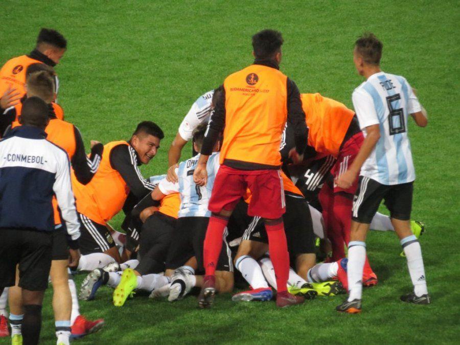 La sub 17 sufrió, aguantó la diferencia y se recuperó ante Colombia