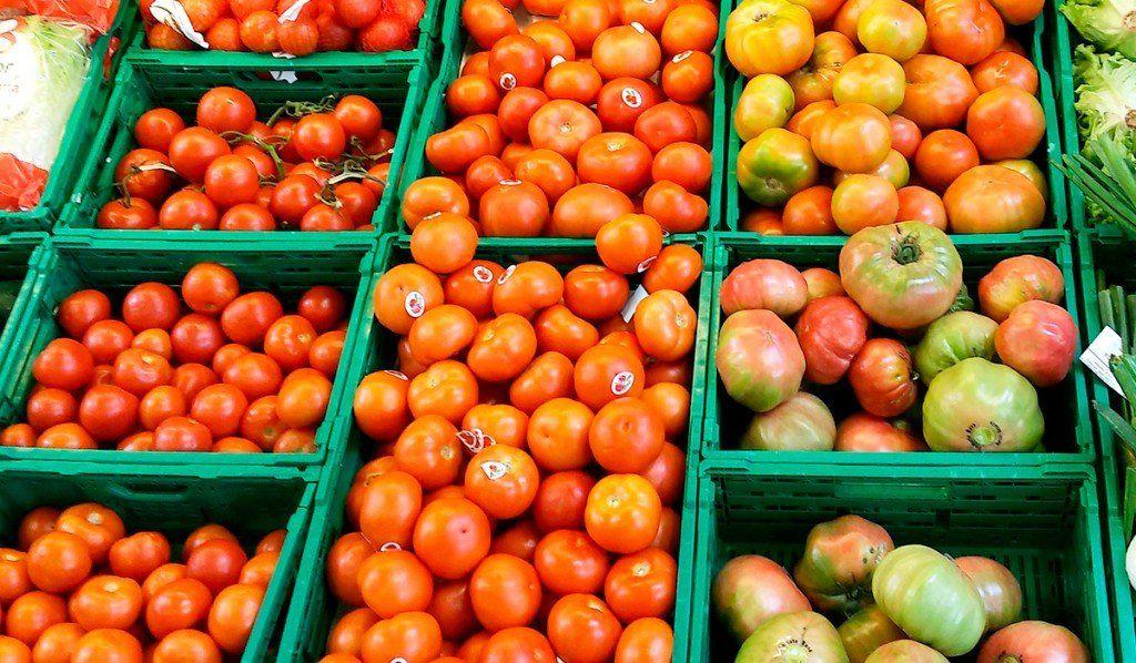 Se registró un aumento considerable en el precio del tomate
