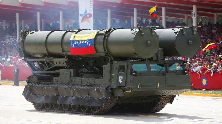 Desplegaron una batería de misiles rusos en alrededores de Caracas