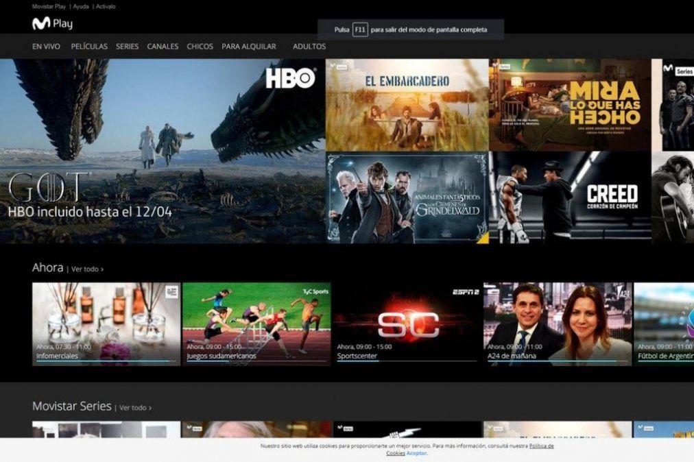 Movistar Play: la nueva plataforma para clientes de la compañía