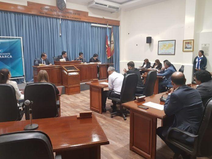 El Concejo aprobó el aumento salarial para los trabajadores de la  Municipalidad de Catamarca