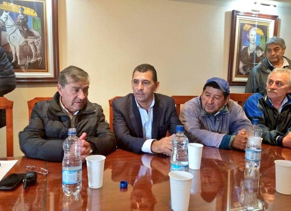 Mario Leito visitó el sindicato municipal y causó una gran satisfacción