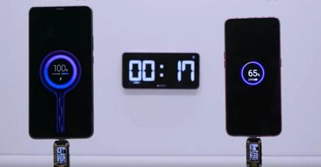 Xiaomi desarrolló un nuevo sistema de carga rápida para dispositivos móviles