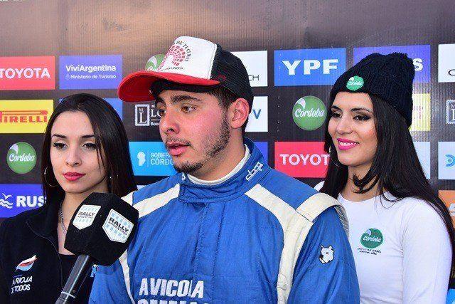 Ernesto Lord confirmó que estará en el Rally de Tafí del Valle