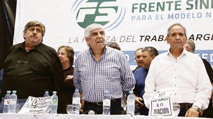 Moyano y el sindicalismo opositor lanzarán un paro nacional en abril