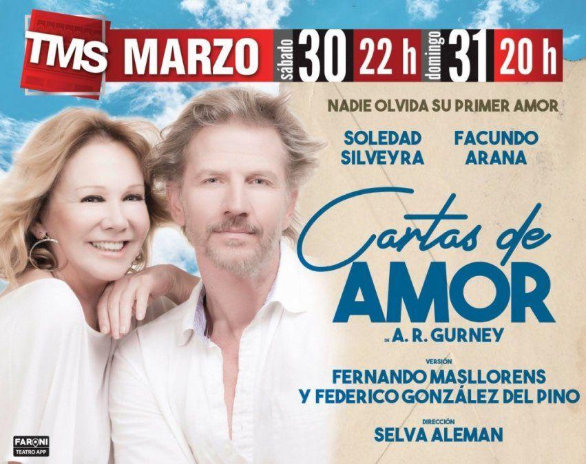 En el teatro Mercedes Sosa escribirán unas Cartas de Amor