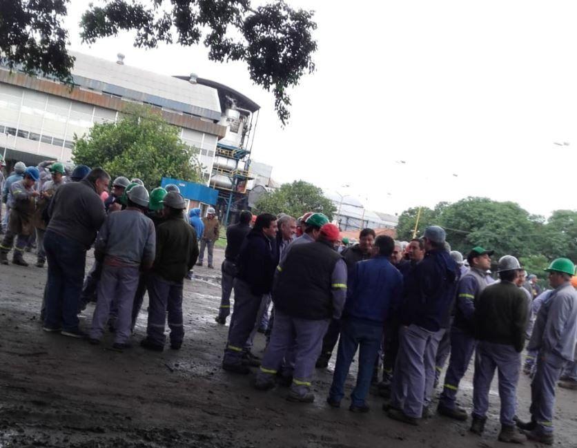 Trabajadores del ingenio Concepción realizan un paro
