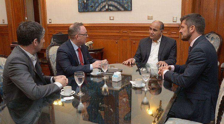Manzur recibió al CEO de Norwegian Air Argentina