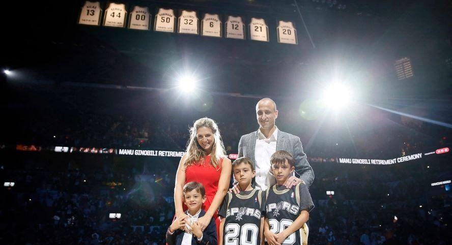 El discurso completo de Manu Ginóbili en el homenaje de los Spurs