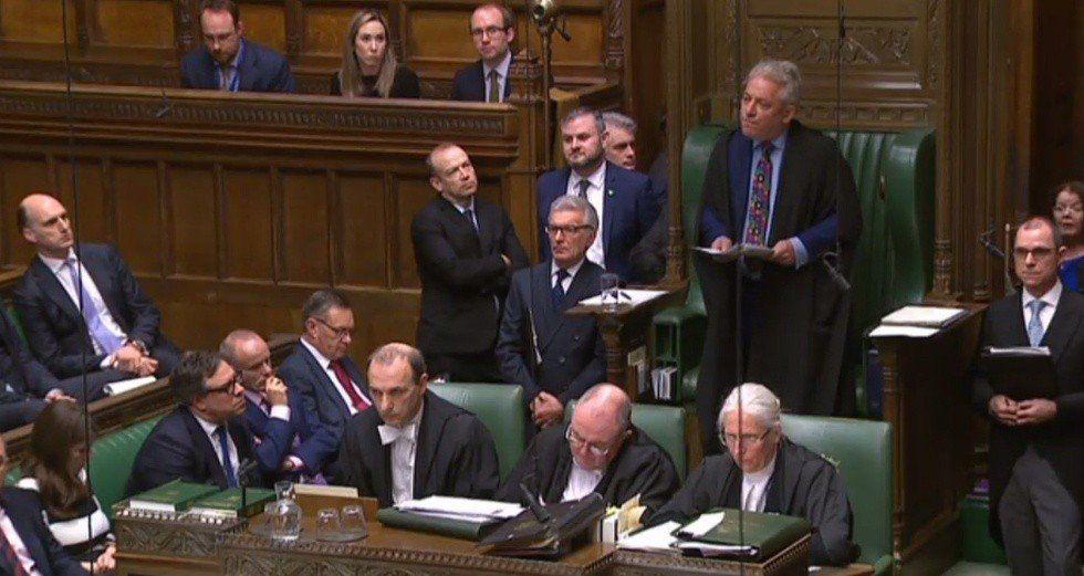 El Parlamento británico volvió a rechazar el Brexit
