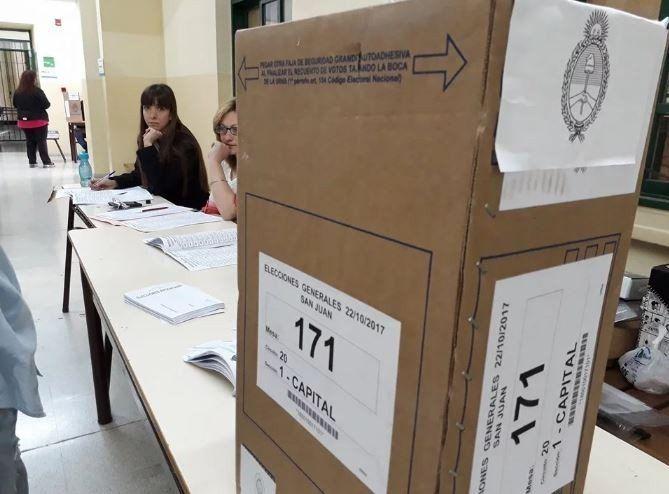 La provincia de San Juan tendrá las PASO el próximo domingo