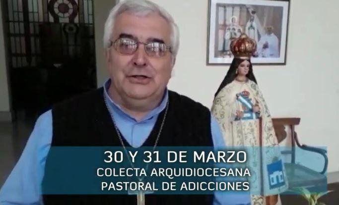 Este fin de semana se realizará la Colecta Arquidiocesana de la Pastoral de Adicciones