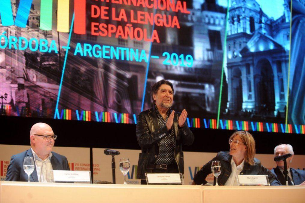 Joaquín Sabina fue ovacionado en el Congreso de la Lengua