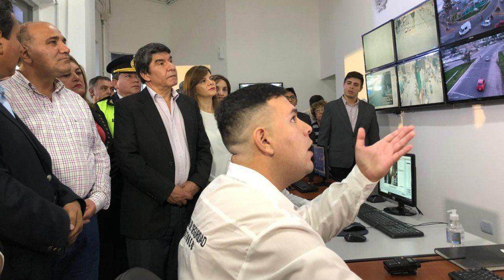 Inauguraron un Centro de Monitoreo en Banda del Río Salí
