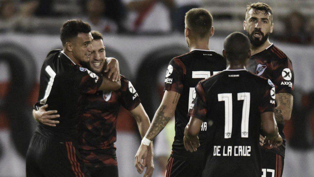 River le ganó a Talleres y tiene pie y medio en la Libertadores 2020