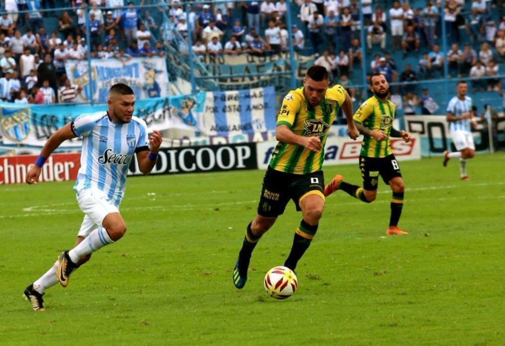 Con gol de Leandro Díaz, Atlético se impuso ante Aldosivi
