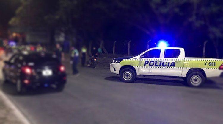 Accidente en ruta 332: Un motociclista chocó contra un árbol y murió