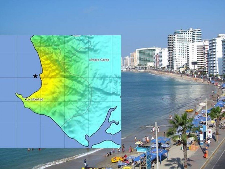 La costa ecuatoriana fue sacudida por tres sismos este domingo
