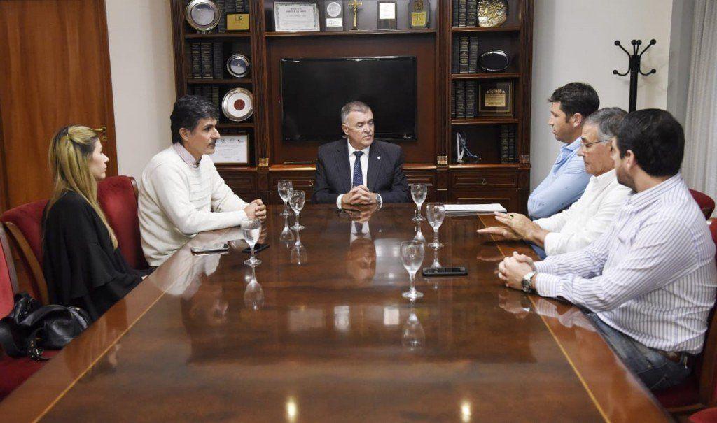 Jaldo mantuvo una reunión con directivos de Apronor