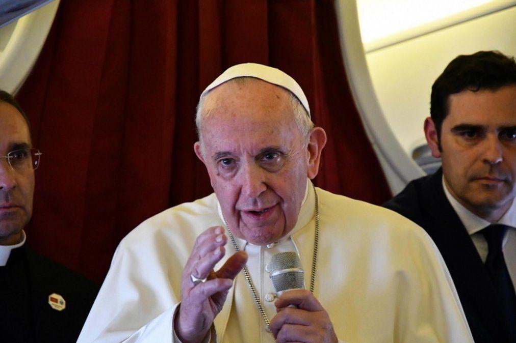 El Papa condena el aborto incluso tras una violación