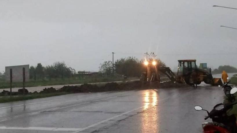 Las lluvias superaron los 200 mm
