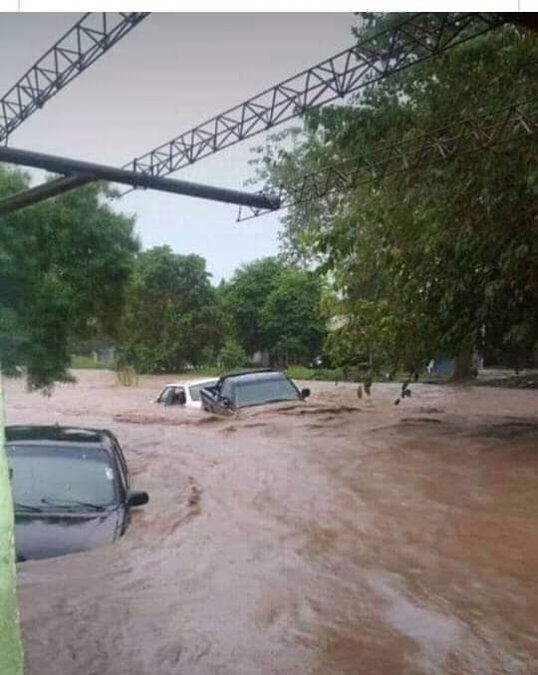 Taco Ralo también sufrió los efectos del temporal