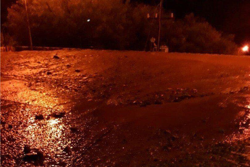 Las tormentas provocaron un alud en las Termas de Fiambalá