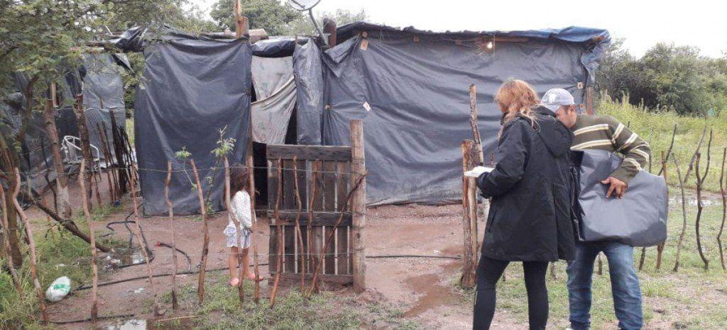 Mas de mil familias quedaron afectadas por el temporal en la capital de La Rioja