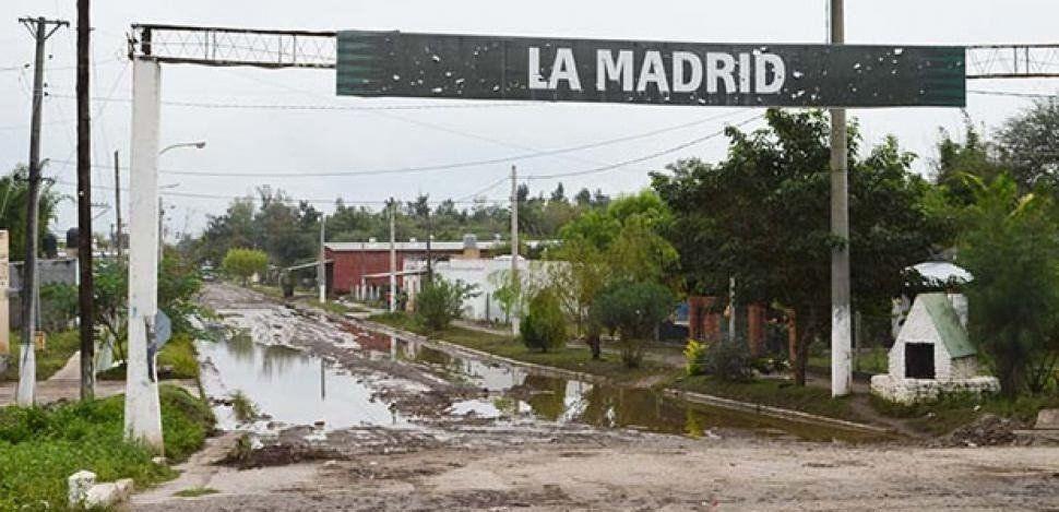 La Madrid: Comenzó a disminuir el caudal del Río Marapa