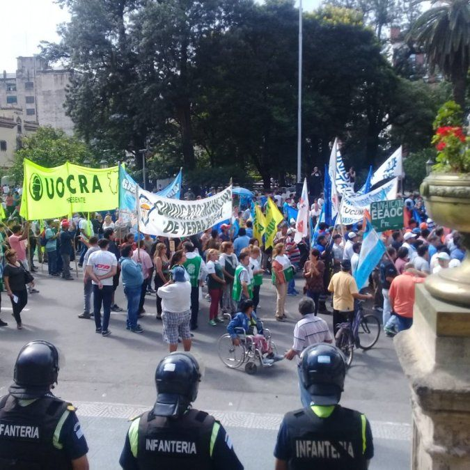 Tucumán también protestó en contra de las políticas del Gobierno nacional